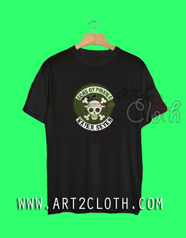Cheap Custom Tee Sons Of Pirates T-Shirt - Art2cloth