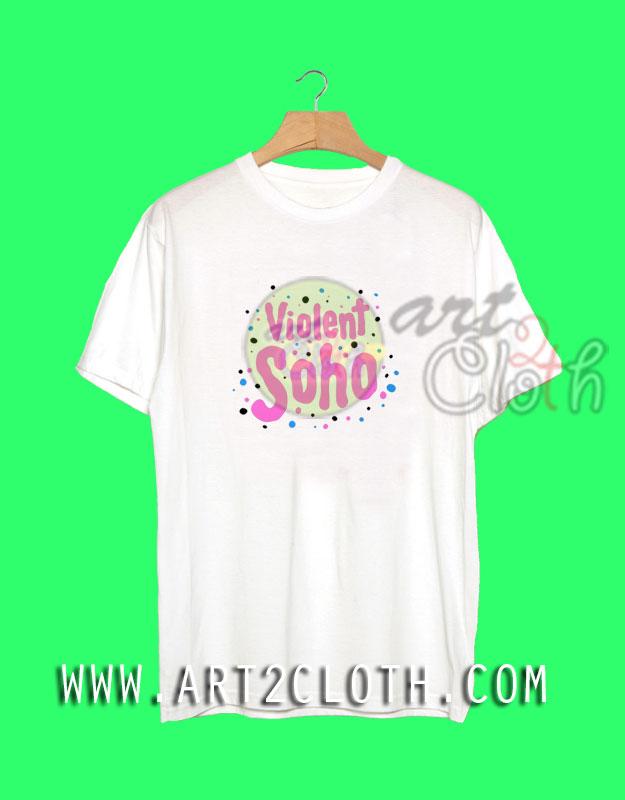 Cheap custom tee violent soho t shirt art2cloth cheap for Budget custom t shirts