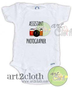 Assistant Photographer Baby Onesie