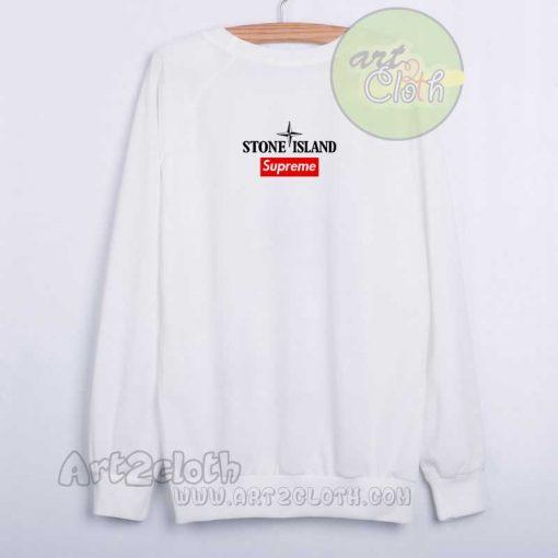 Stone Island x Supreme Collab Sweatshirt