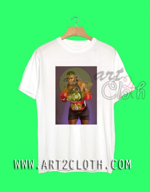 Cheap Custom Tee Mike Tyson Young T Shirts