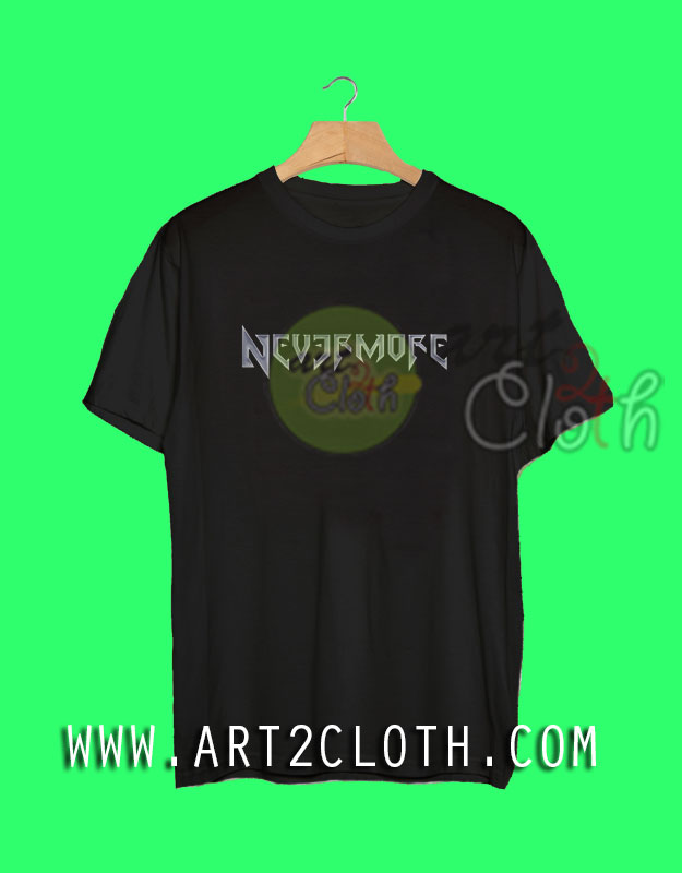 b377c7d7 Cheap Custom Tee Nevermore Metal Band T Shirts - Art2cloth