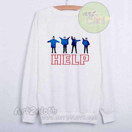 Beatles Help Album Sweatshirt