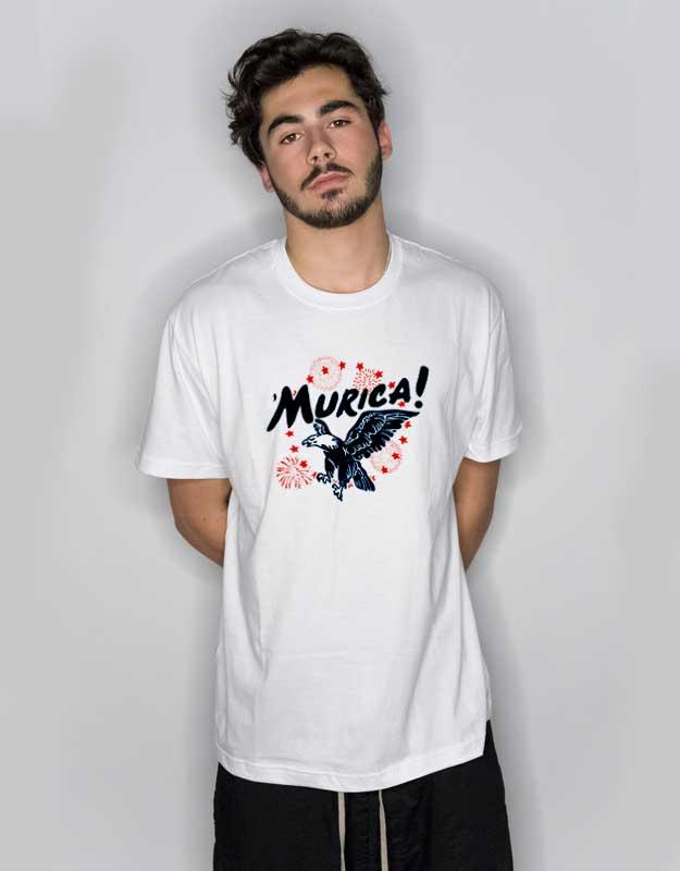bfa9ddcc Murica Eagle T Shirt | Cheap Custom Tee | Art2cloth.com