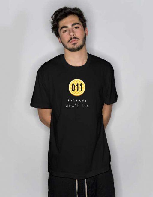 011 Pancake Friends Don't Lie T Shirt