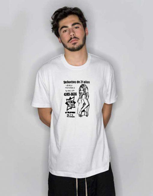 09 Senoritas Sexy Lady T Shirt