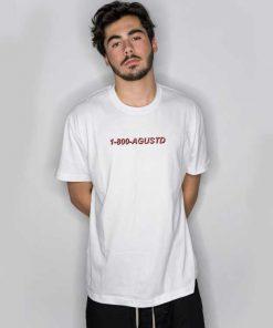 1-800-Agustd Hotline Bling T Shirt