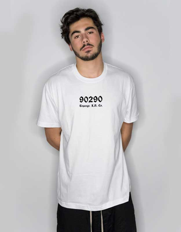 1aac553d 90290 Topanga Los Angeles California T Shirt | Cheap Custom Tee