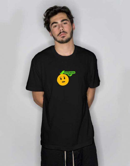 Exsqueeze Me? Orange T Shirt