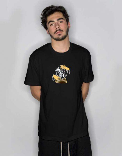 More Coffee Crystal Ball T Shirt