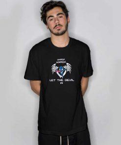 Venom Let The Devil In Knock Knock T Shirt