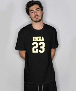 Ibiza 23 Jersey Number T Shirt