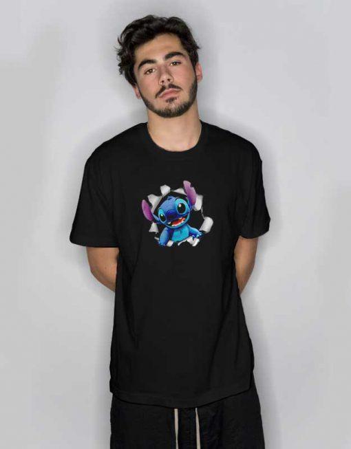 Stitch Break The Wall T Shirt