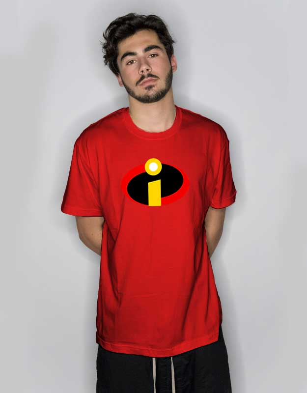 The Incredibles Logo Red T Shirt