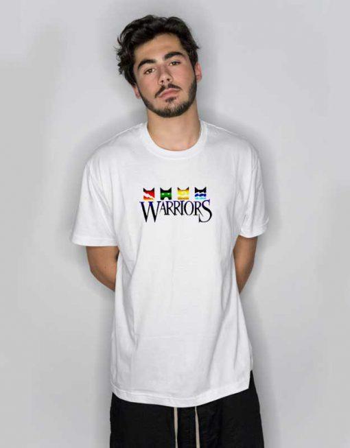 Warriors Cats Elements Logo T Shirt