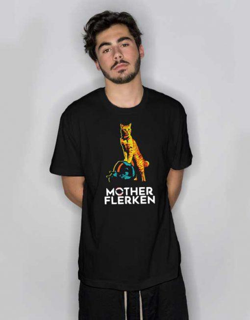 Captain Marvel The Cat Mother Flerken T Shirt