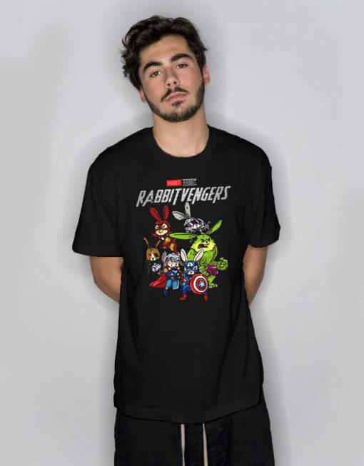 Marvel Avengers Rabbit Rabbitvengers T Shirt