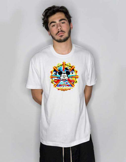 Disney Mickey Mouse California Logo T Shirt