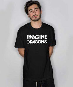 Imagine Dragons Quote Logo T Shirt