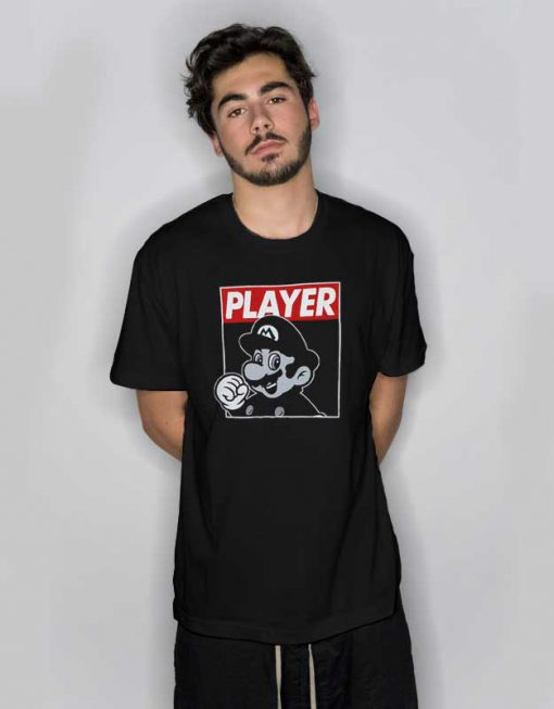 Nintendo Super Mario Bros Classic T Shirt