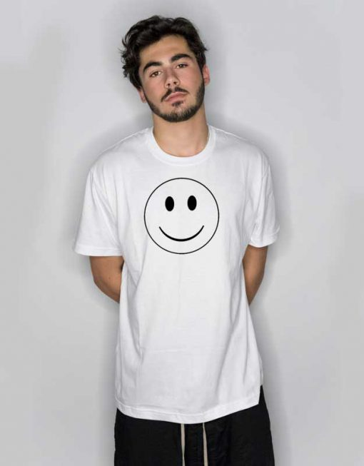 Smiley Face Emoticon Logo T Shirt