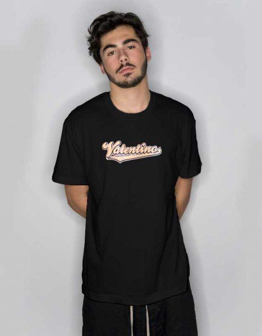Valentino Print Logo T Shirt