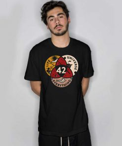 Venn Diagram Life Universe Everything 42 T Shirt