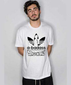 A Badass Adidas Parody Dragon Ball T Shirt