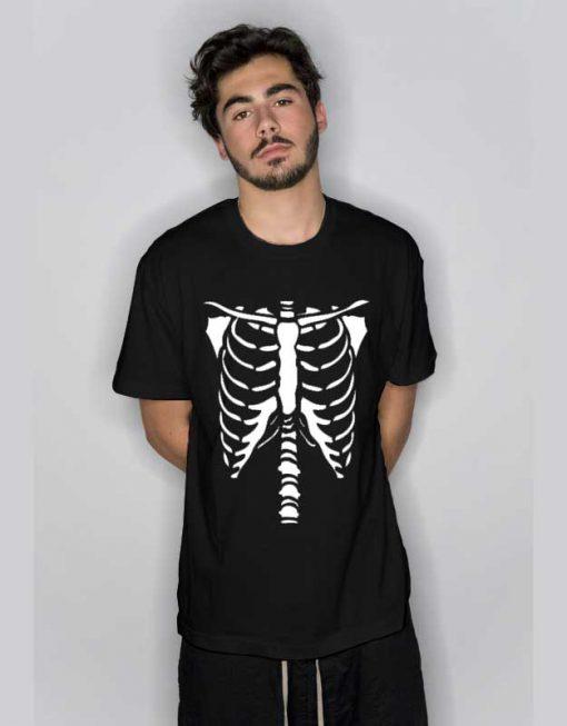 Bones Skeleton Halloween T Shirt