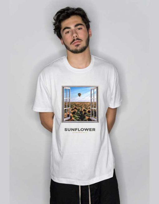 Post Malone Sun Flower T Shirt