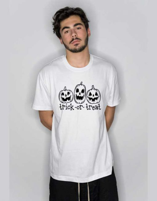 Pumpkin Trick Or Treat T Shirt