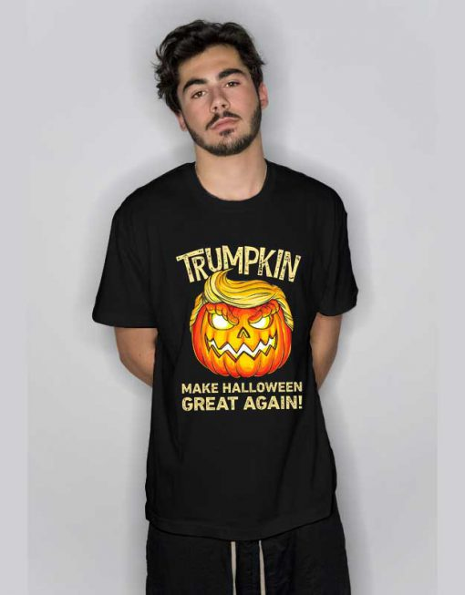 Trumpkin Halloween T Shirt