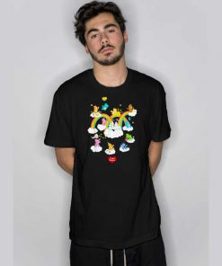 Care Bears in The Clouds T Shirt