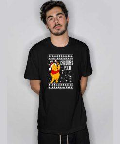 Chirstmas Pooh T Shirt