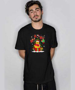 Ho Ho Ho Winnie The Pooh Christmas T Shirt