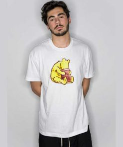 Pooh Bear And Honey Pot T Shirt