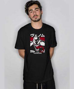 Venom Japanese Kanji Character T Shirt