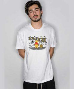 Winnie The Pooh Hunny Trap Alien T Shirt