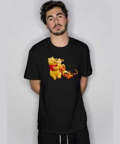 Winnie The Pooh Bear And Tigger T Shirt