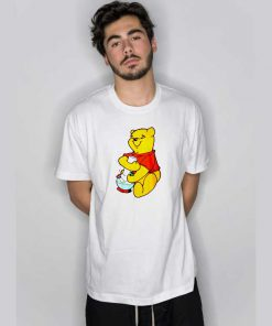 Winnie The Pooh Smoking T Shirt