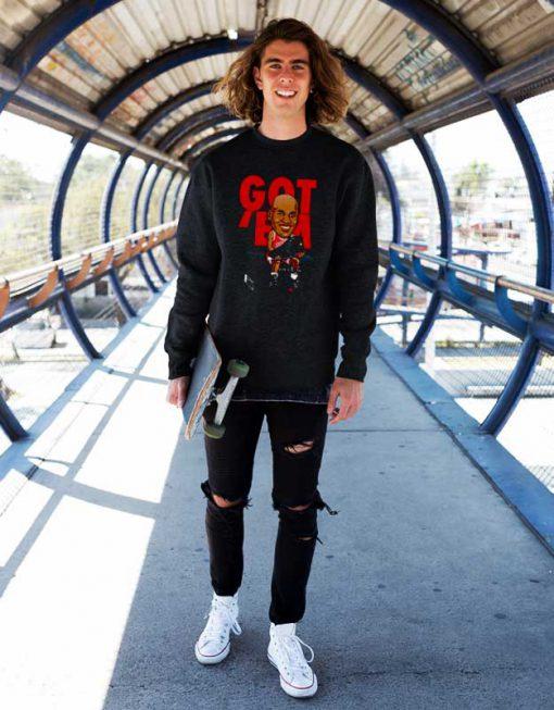 Got Em Black Sweatshirt