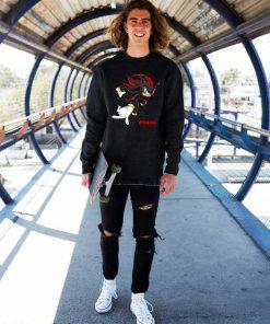 Jordan 14 Shadow Hedgehog Sweatshirt