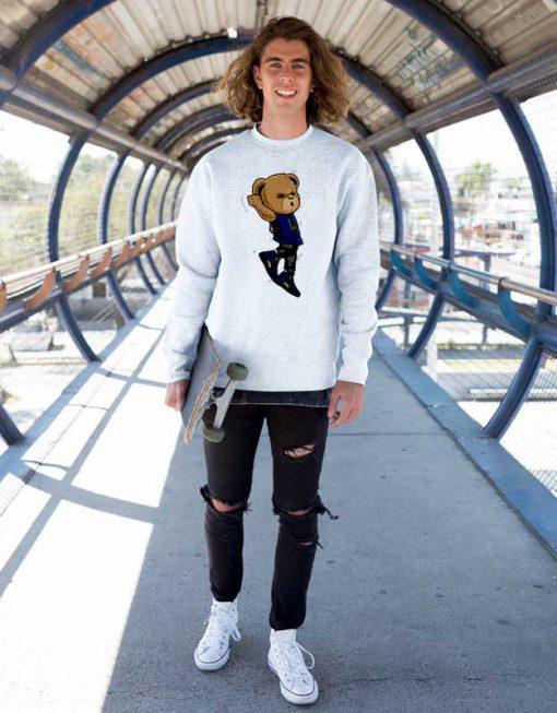 Shootin Polo Bear Sweatshirt