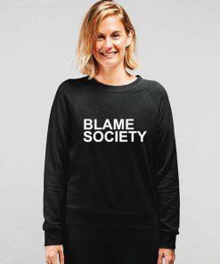 Blame Society Jay Z Hip Hop Sweatshirt