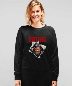 Critters Chest Explosion Horror Sweatshirt