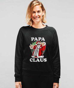 Funny Santa Papa Christmas Sweatshirt