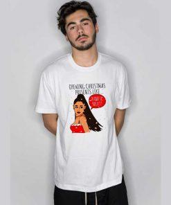 Grande Thank U Next Christmas T Shirt