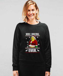 Santa Worst Christmas Ever Sweatshirt