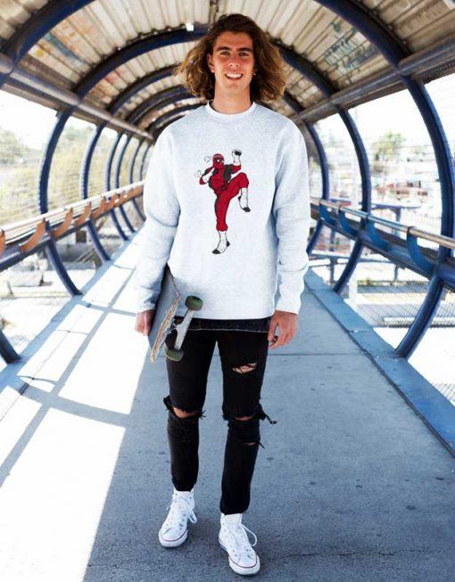 Muay Thai Deadpool Sweatshirt