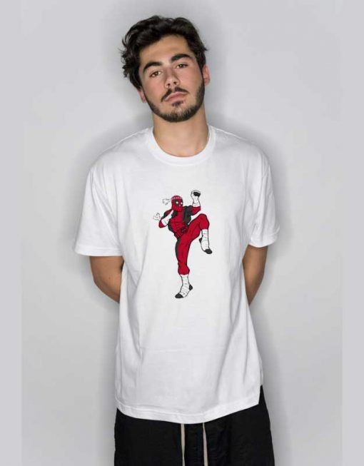 Muay Thai Deadpool T Shirt